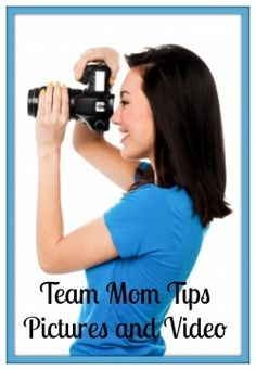 Team Mom Tips ~ Pictures and Video | gomominc.com #teammom #youthsports