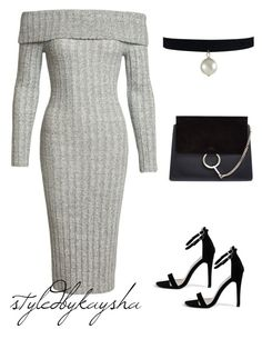 """""""Untitled #132"""" by styledbykaysha on Polyvore featuring Sans Souci, Boohoo and Chloé"""