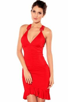 Dear-lover Women's Glamorous Ruched Mermaid Evening Dress, One Size Red Dear-lover,http://www.amazon.com/dp/B00DRBAAKY/ref=cm_sw_r_pi_dp_5iIWsb0P9BB4KCRG