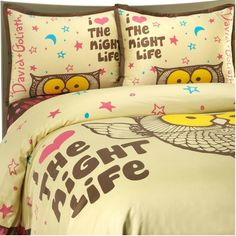 owl bedding set....want it!!!!!