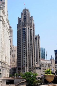 Chicago Nord - Chicago Tribune Tower