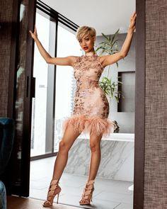 "Páči sa mi to: 24.6 tis., komentáre: 214 – MICAH GIANNELI (@micahgianneli) na Instagrame: ""She's ready Dress from @hotmiamistyles #MG_PaidPartner"""