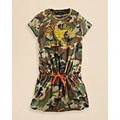 Ralph Lauren Childrenswear Girls' Jersey Dress - Sizes S-XL