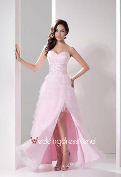 Pretty Sweetheart Neckline Beaded Split Front Evening Dress http://www.weddingdresstrend.com/en/pretty-sweetheart-neckline-beaded-split-front-evening-dress.html #prom dress