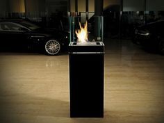Radius Design 555 K Ethanolkamin 3L High Flame Edelstahl Schwarz