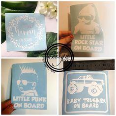 Car decals 🚗 Which one is your favourite? . Website link in bio www.thedesignroom.co.nz * * * * * * * * * * * * * * * #thedesignroom #newzealand #design #shopsmall #bosslady #nzkids #creativehappylife #kids #custom #babyonboard #supportnzbusiness #nzmum #kidsfashionnz #madebymumnz #madeinnz #nzmumprenuer #shoplocal #smallbiz #kiwikids #girlsbiz #kiwimums #customtee #customvinyl #nnzmo #nzbusiness #networknz #cardecals #nzstyle #womeninbusiness #igers