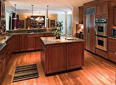 Wood Kitchen Floor hardwood floors in kitchens pictures | cherry cabinets with wood