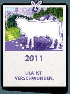 Ein Aufruhr geht durch die Fangemeinde: Die Milka-Kuh wird vermisst. Auf drei verschiedenen Sorten der Milka Schokoladentafeln fehlt Lila – unter anderem auf dem Klassiker Milka Alpenmilch. Mehr als 100.000 unserer fürsorglichen Milka Fans machen sich auf die Suche nach der Milka-Kuh. Sie sammeln fleissig Hinweise, unterstützen sich gegenseitig mit Informationen und werden am Ende der Aktion nicht nur mit Lila's Rückkehr sondern auch mit vielen Preisen belohnt: mit unseren kuscheligen Lila…