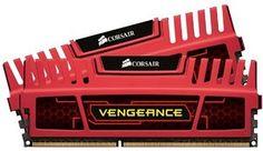 Corsair CMZ8GX3M2A1600C9R Vengeance 8GB (2x8GB) DDR3 1600 Mhz CL9 XMP Performance Desktop Memory Rot