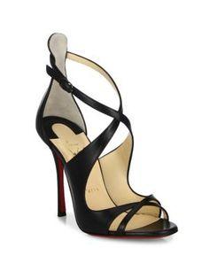 a56122895198 CHRISTIAN LOUBOUTIN Malefissima Leather Sandals.  christianlouboutin  shoes   sandals Louboutin High Heels