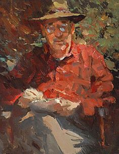 """Kevin Macpherson · """"Outdoor sketcher"""" 11/14"""" oil Basic Painting, Figure Painting, Colour Wheel Theory, Nature Paintings, Oil Paintings, Nature Sketch, Painting People, Impressionist Art, Figurative Art"""