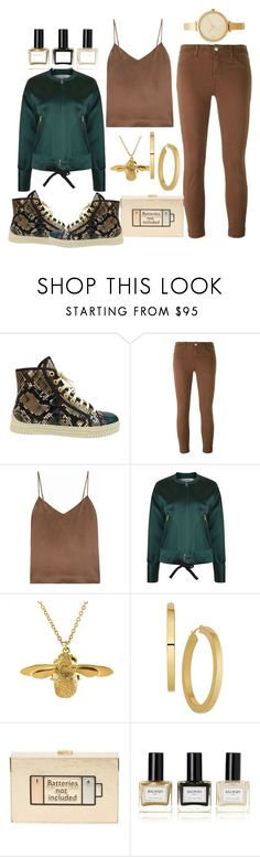 """""""golden state game"""" by esha2232 ❤ liked on Polyvore featuring Chanel, J Brand, L'Agence, Victoria, Victoria Beckham, Alex Monroe, Anya Hindmarch, Balmain and Michael Kors"""