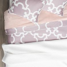Bedroom inspiration and bedding decor   The Cloud Soft White Quilt & Sham Duvet Cover   Crane and Canopy