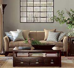 MIrror ideas--Image via Apartment Therapy.
