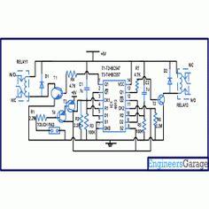 9-Way Clap Switch Circuit Diagram | Electronic Circuits | Pinterest ...