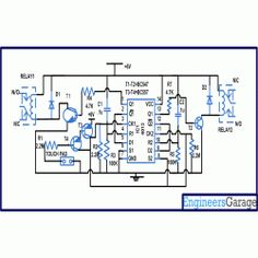 Two way switch circuit diagram