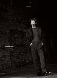 Ben Whishaw para Esquire UK Diciembre 2015