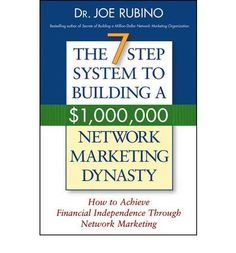 Millions of people around the world participate daily in network marketing sales. This book offers, for the first time, a step--by--step plan for building a profitable, long--lasting network marketing business.