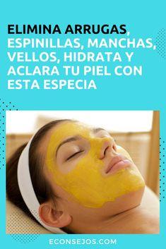 Mascarilla Cúrcuma - Cúrcuma para la piel Beauty Secrets, Beauty Hacks, Beauty Skin, Hair Beauty, Facial Tips, Facial Care, Turmeric Face Mask, Lighten Skin, Les Rides