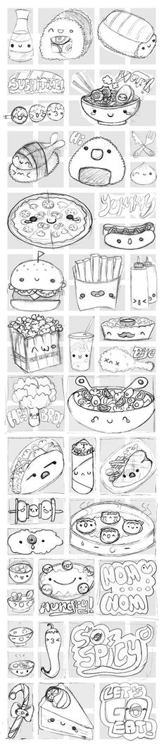 Viber's Kawaii Food Stickers