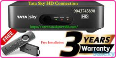Tata Sky is one of the best Entertainment DTH services in India providing more channels. Tata Sky+ HD transfer box allows you to record up to 3 shows or programs simultaneously. With 24x7 customer care support in 13 languages, a three-years warranty, multiple recharge options, and great relocation services Sky New, Relocation Services, Chennai, Languages, Connection, Entertainment, India, Box, Idioms