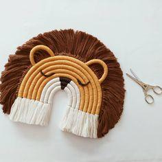 Macrame Design, Macrame Art, Macrame Projects, Macrame Knots, Art Macramé, Elephant Wall Decor, Macrame Patterns, Etsy, Crochet