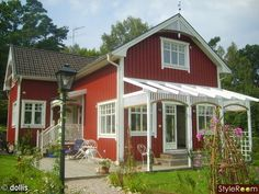 Image Result For Red Exterior House Paint