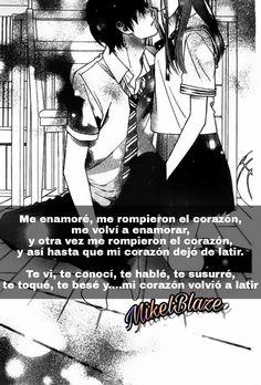Frases anime, amor