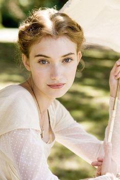 Imogen Poots as Fanny Knight in Miss Austen Regrets 2008