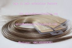 European Remy Ombre Tape In Extensions, factory price, the hair very soft, customers like it very much, our factory do wholesale business, welcome to visit our website www.uniquehairextension.com or our instagram https://www.instagram.com/qingdaouniquehair/ or email us sales@uniquehairextension.com for more pictures and videos, Whatsapp: +8613553058361