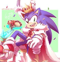 I couldn't miss this day, working pc or not Happy Birthday, Sonic! x