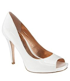 BCBGeneration Dion Pumps | Got these for an amazing price at Dillards.com.  I'm going to pair them with shoe clips for the wedding, but I can keep wearing them with other things because they're patent leather.  :)