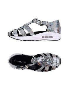 SUSANA TRACA Women's Sandals Grey 11 US #WomensSandals