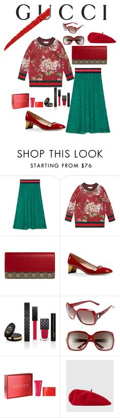"""""""Untitled #26"""" by kliseska on Polyvore featuring Gucci"""