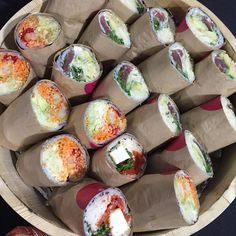 https://eatburedo.com/ Beatrix umami, sweet  yellowfin tuna & salmon sashimi, cucumber, pickled cabbage, green onion, tempura crunch, unagi sauce $11.75