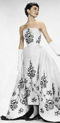 Givenchy's iconic gown for 'Sabrina'