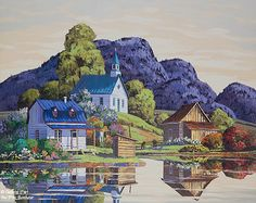 Vladimir Horik, 'Les fleurs sur l'eau', print/reproduction | Galerie d'art - Au P'tit Bonheur - Art Gallery