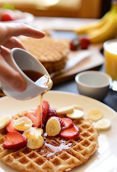 Vegan Gluten Free Oatmeal Waffles | OMG I Love To Cook
