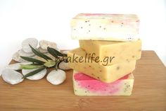 Melt And Pour, Feta, Diy And Crafts, Projects To Try, Cheese, Recipes, Soaps, Birthday Cake, Tutorials