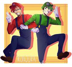 Super Sass Brothers! by Konoira on DeviantArt