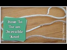 How to Join a New Ball of Yarn in Three Different Ways│by ThePatterfamily - YouTube