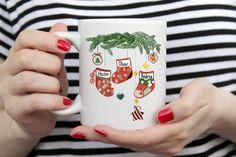 Christmas Gifts For Him, Christmas Coffee, Family Christmas, Best Friend Mug, Friend Mugs, Youre My Person Mug, Birthday Coffee, Personalized Coffee Mugs, Handmade Design