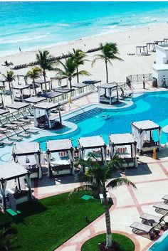 White sands and turquoise waters await! Schedule the perfect beach vacation at our all inclusive resort in Cancun! Our beautiful resort has everything you need to enjoy a holiday in the sun. | Hyatt Zilara Cancun