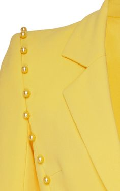 Tailored Crepe Jacket by Pamella Roland Fashion 2020, Luxury Fashion, Couture, Fashion Outfits, Womens Fashion, Designing Women, Blouses For Women, Winter Outfits, Perfect Fit