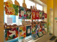 J4W Batik art display