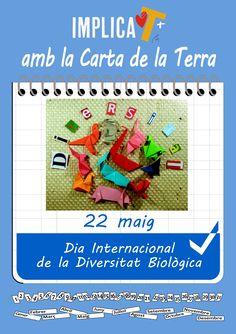Implica't+ amb el Dia Internacional de la Diversitat Biològica  http://centresimplicats.blogspot.com.es/2015/05/implicat-amb-el-dia-internacional-de-la.html