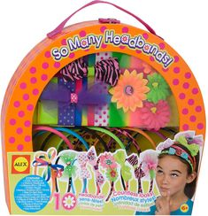 Alex Toys So Many Headbands Craft Kit. Have your little girl be creative with these adorable headbands!