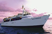 Lahaina Cruise Company, Maui $85.20/person for dinner+drinks