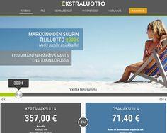 Ekstraluotto.fi - Lainaa 10 - 3000 euroa.