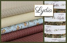 Great new line! Lydia by Mary Koval for Windham